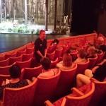 Vår guide producent Jonas Georgsson gav en mycket uppskattad presentation av Operan.